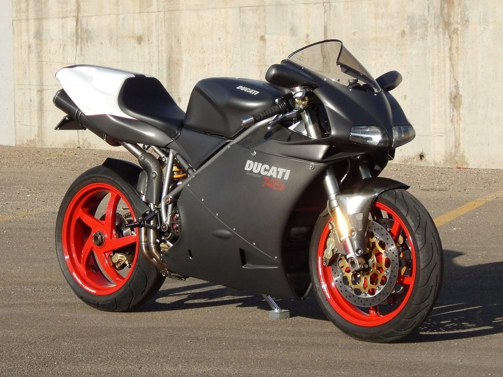 Brazeau Racing Ducati Superbike 748s