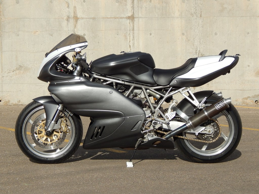 Brazeau Racing Ducati Supersport 900