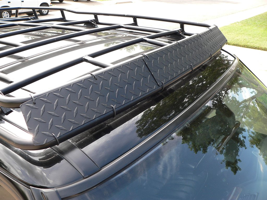 P38 Oem Roof Rack Wind Deflector